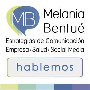 Melania Bentué. Comunicación empresa, salud y social media