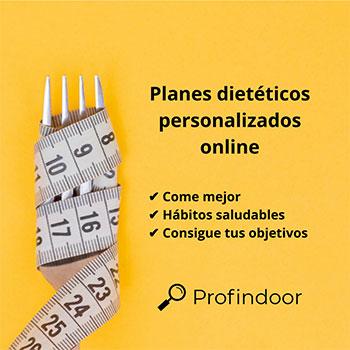 Planes dietéticos personalizados online